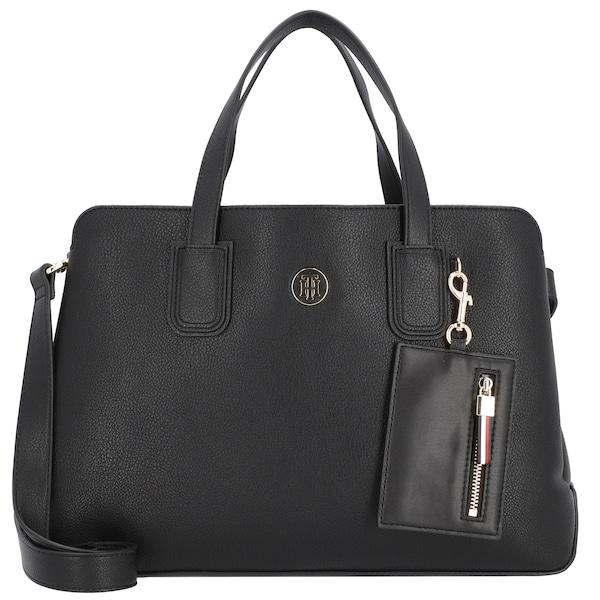 Handtaschen für Frauen - Handtasche 'Charming Tommy' › Tommy Hilfiger › schwarz  - Onlineshop ABOUT YOU