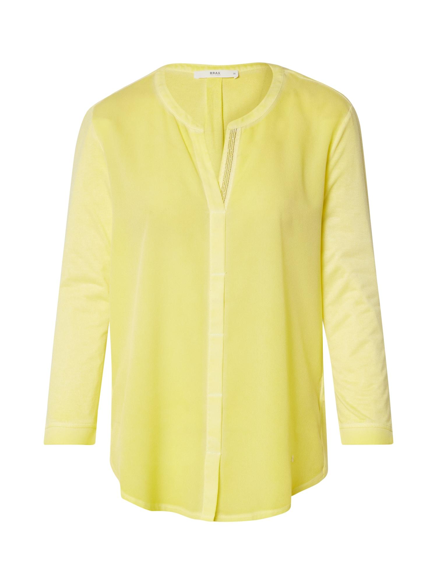 BRAX Marškinėliai 'CLARISSA' geltona