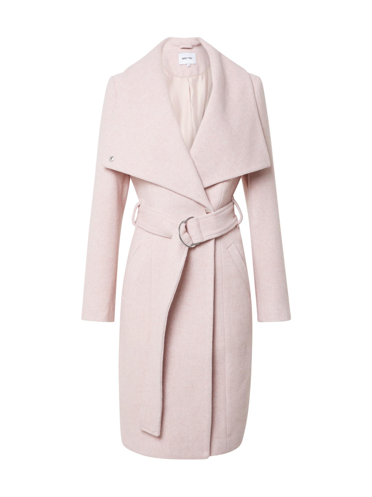 ABOUT YOU Přechodný kabát 'Alma'  růžová