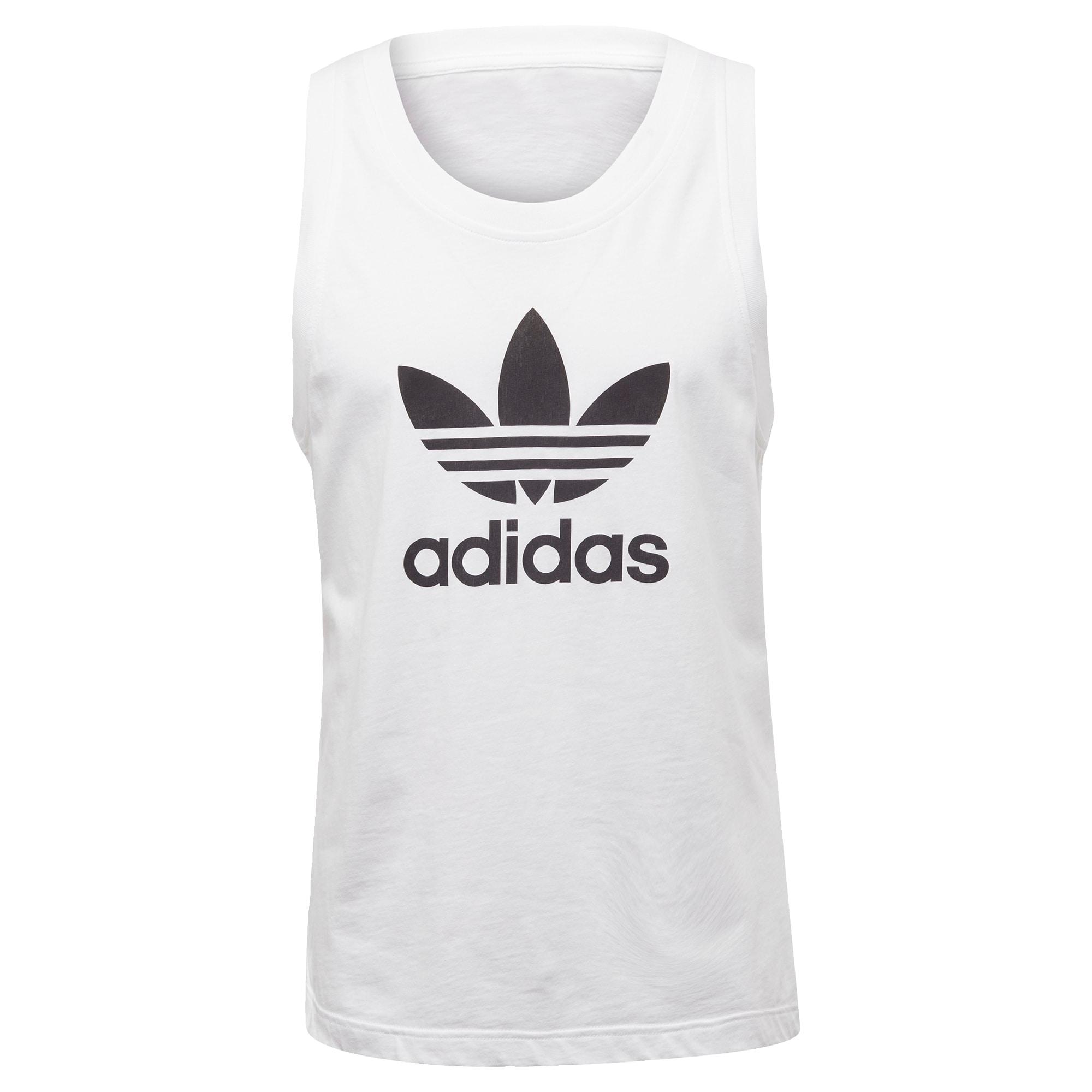ADIDAS ORIGINALS Marškinėliai 'Trefoul' juoda / balta