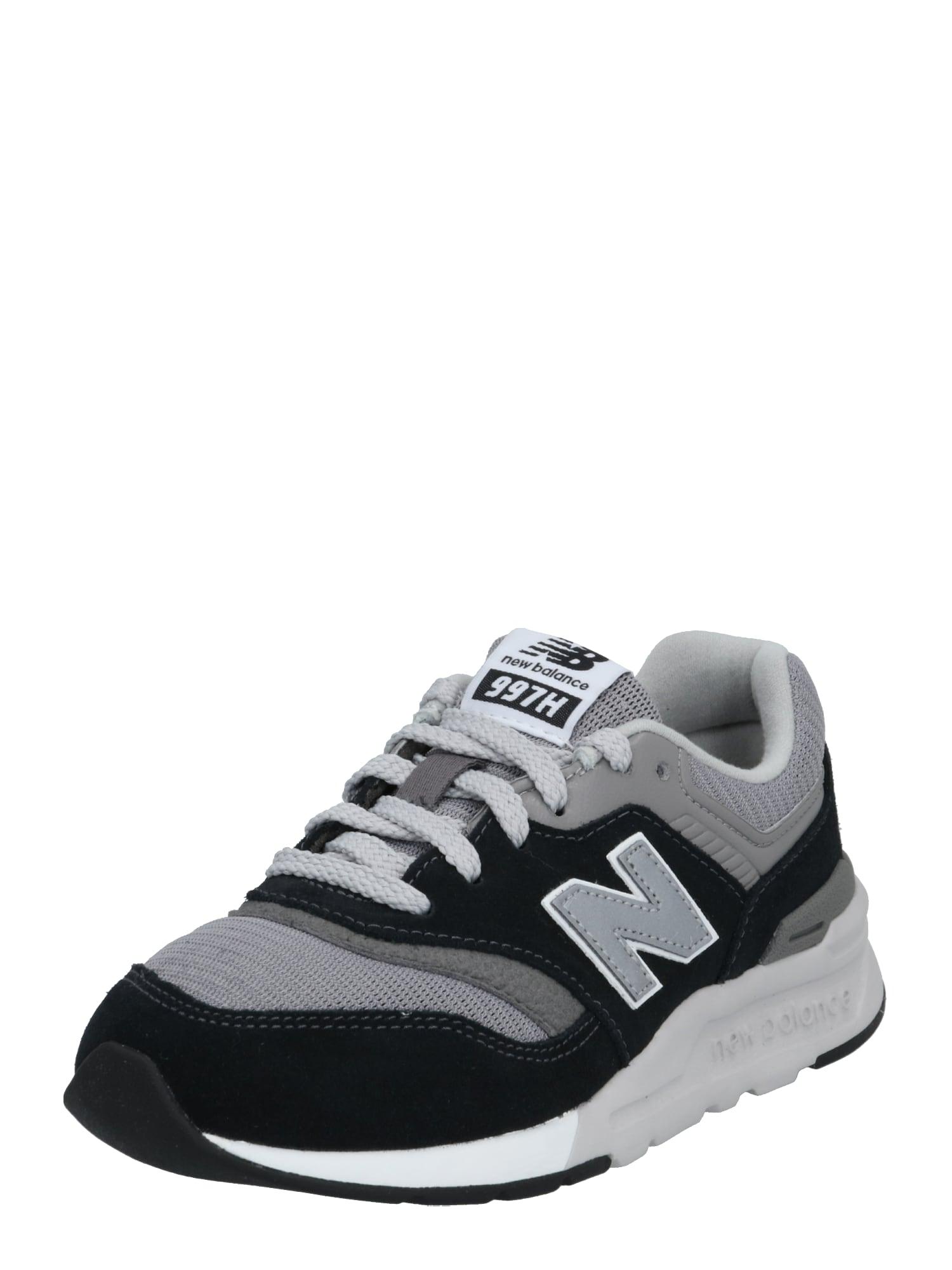 new balance Tenisky  biela / čierna / sivá