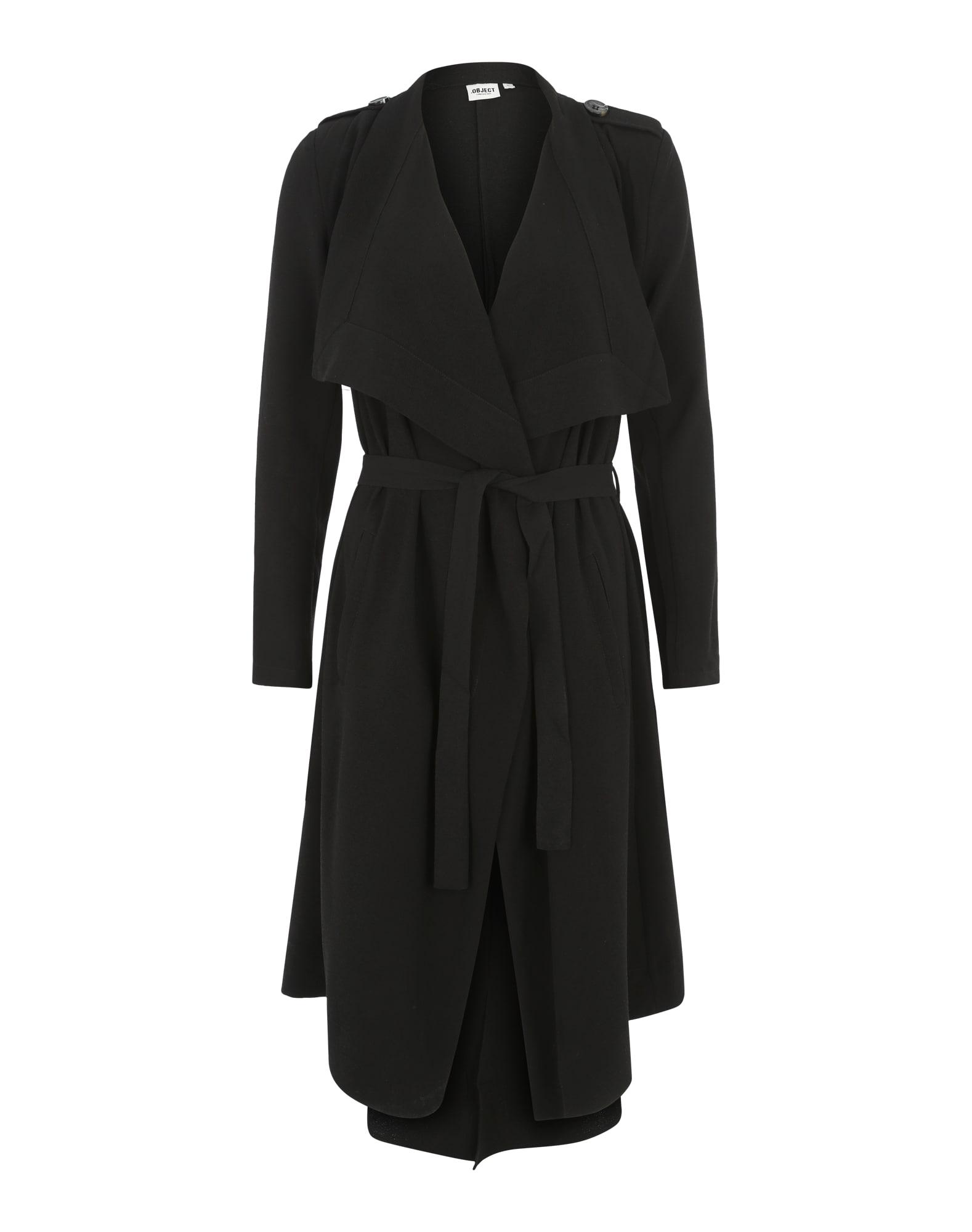 OBJECT Prechodný kabát 'Objannlee'  čierna