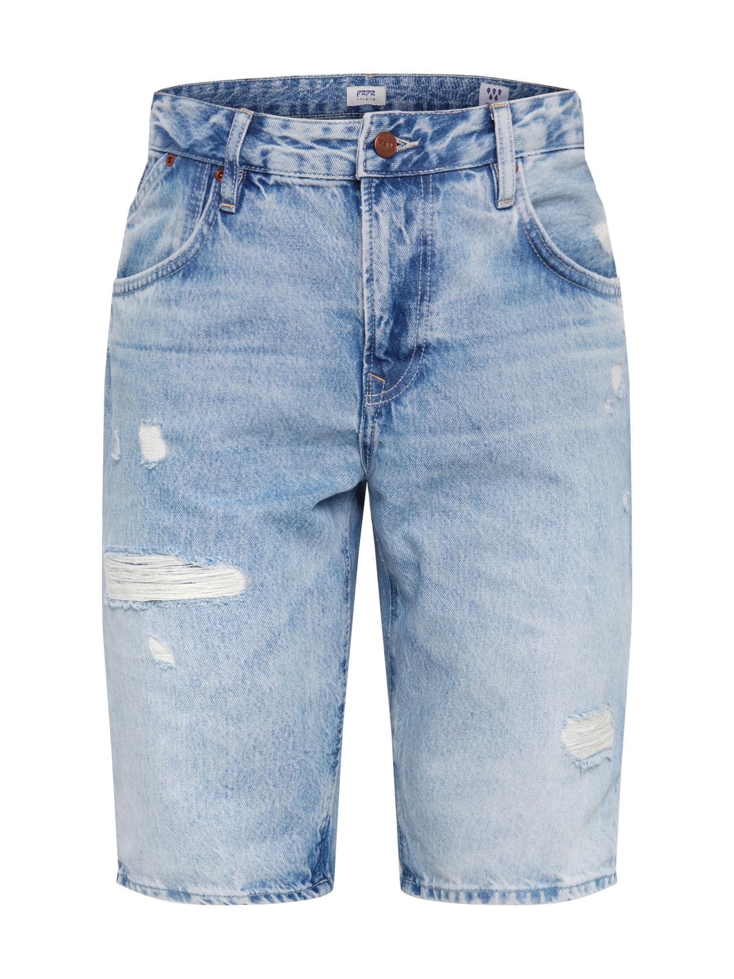 Pepe Jeans Džinsai 'JARROD SHORT ARCHIVE' tamsiai (džinso) mėlyna