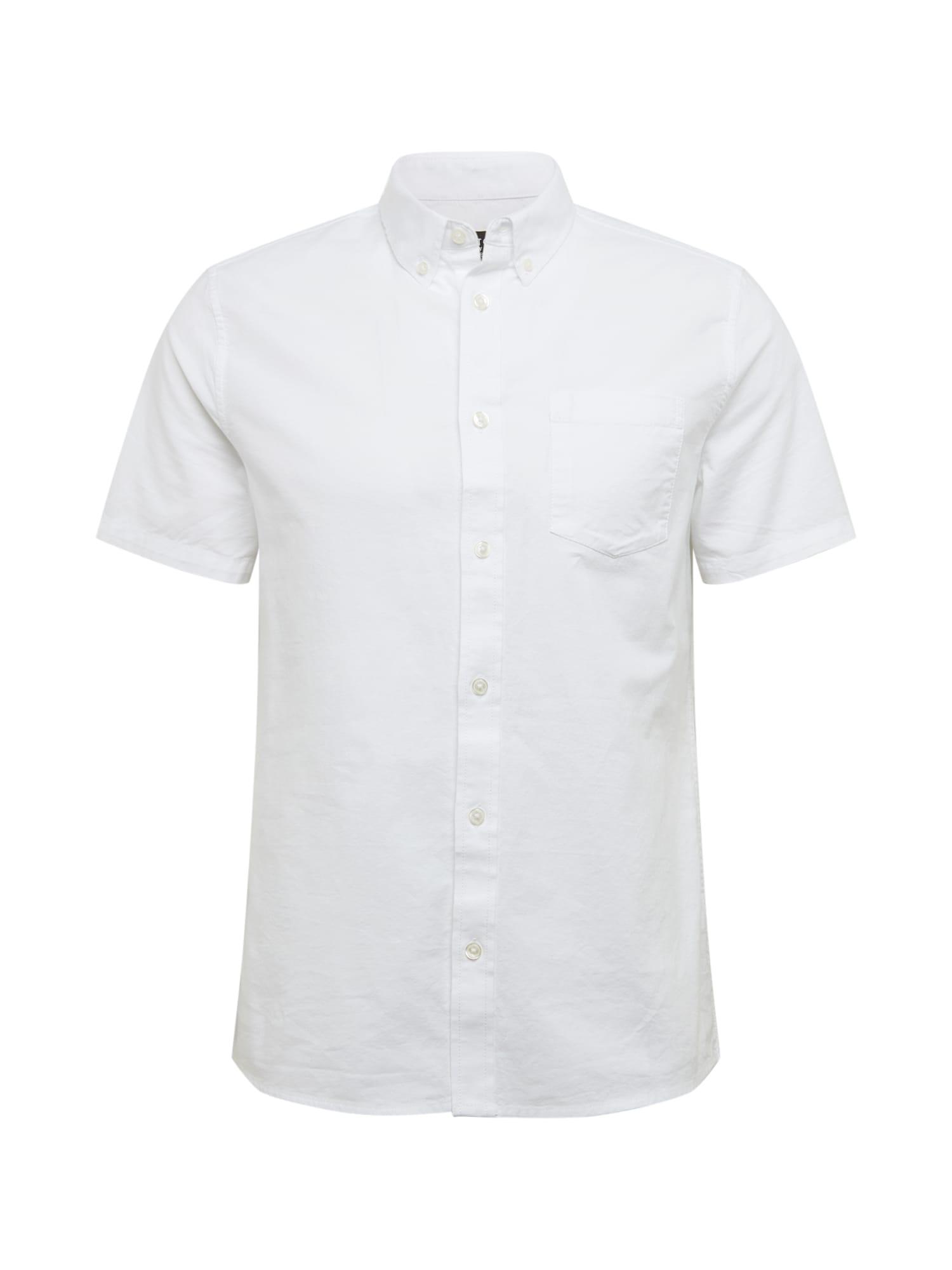 BURTON MENSWEAR LONDON Košeľa 'Oxford'  biela