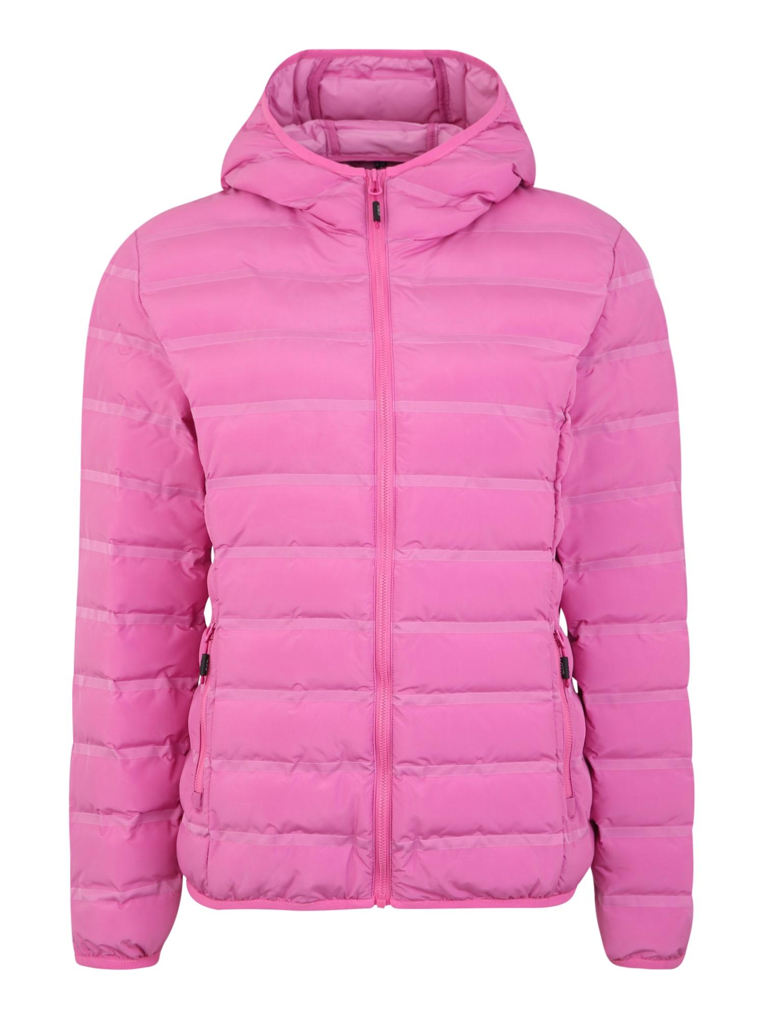 CMP Kültéri kabátok 'WOMAN JACKET FIX HOOD'  rózsaszín