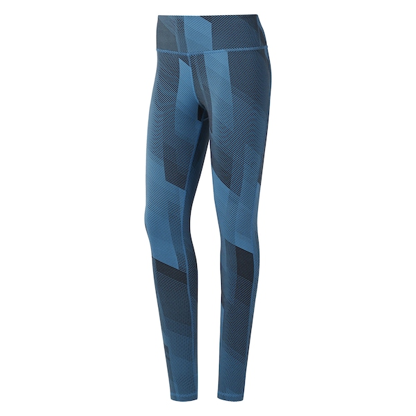 Hosen für Frauen - Sport Tights 'Lux Tight 2.0 ' › Reebok › petrol  - Onlineshop ABOUT YOU