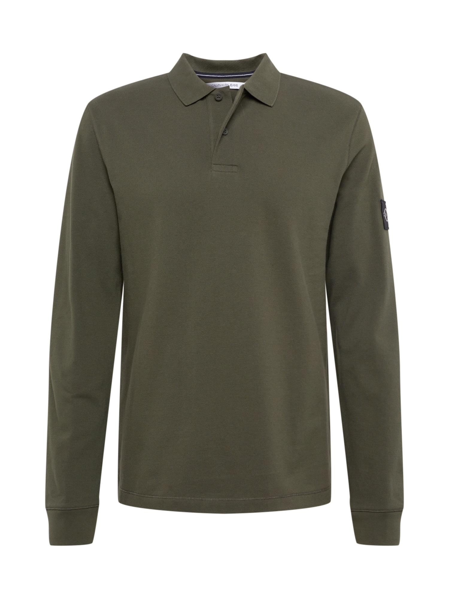 Calvin Klein Jeans Marškinėliai žalia