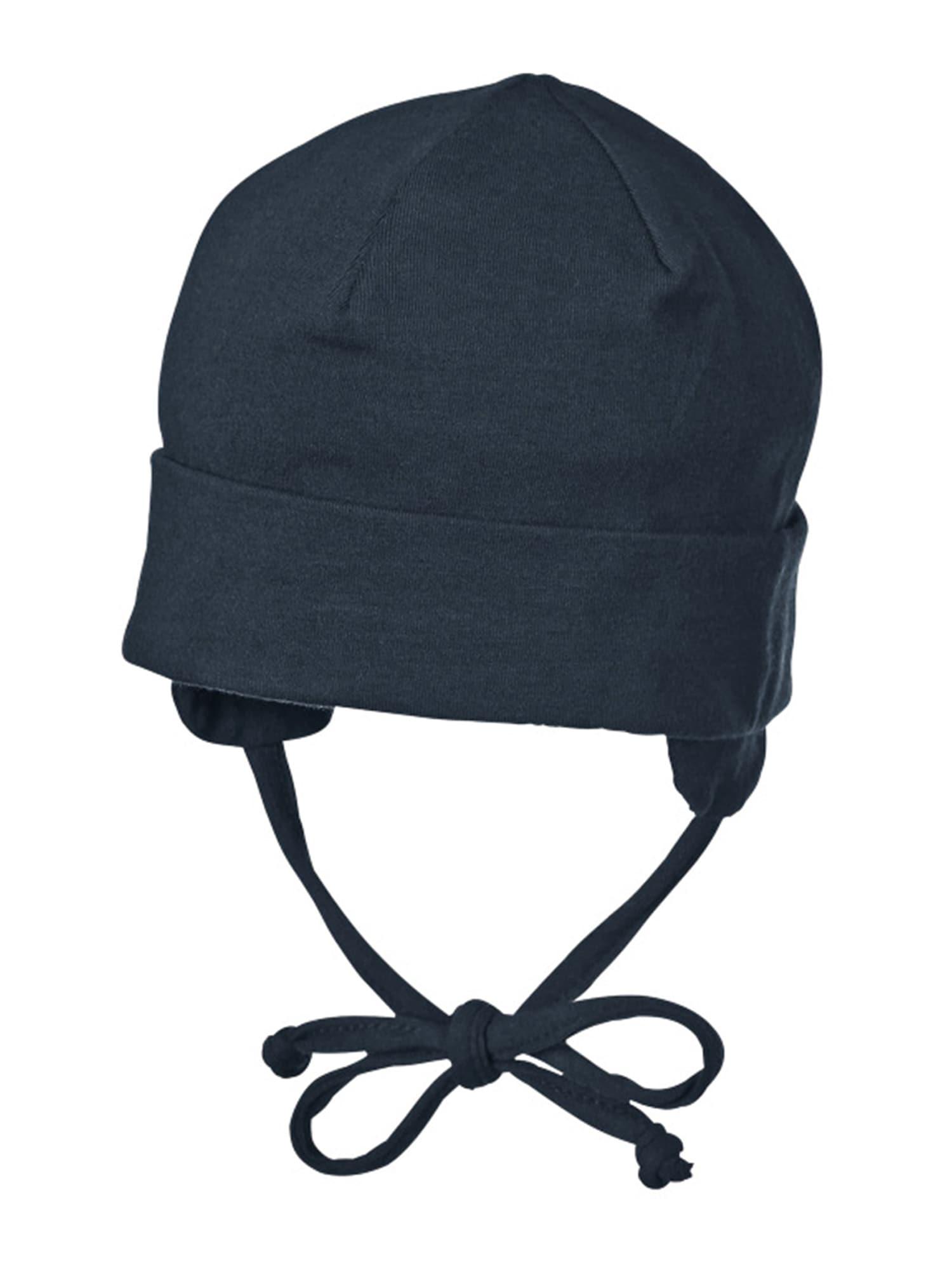 STERNTALER Megzta kepurė tamsiai mėlyna jūros spalva