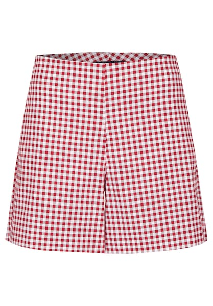 Hosen für Frauen - DANIEL HECHTER Sommerliche Shorts rot weiß  - Onlineshop ABOUT YOU