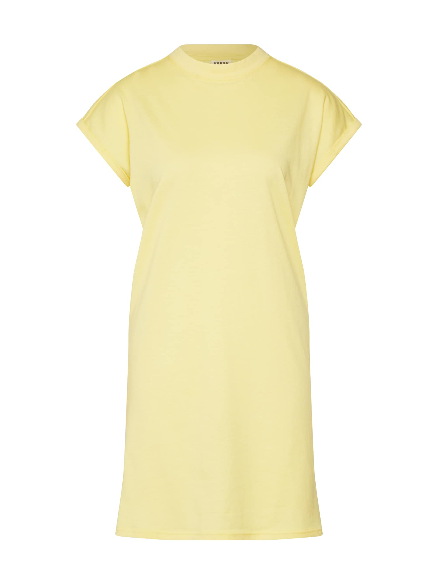 Urban Classics Curvy Šaty  žlté