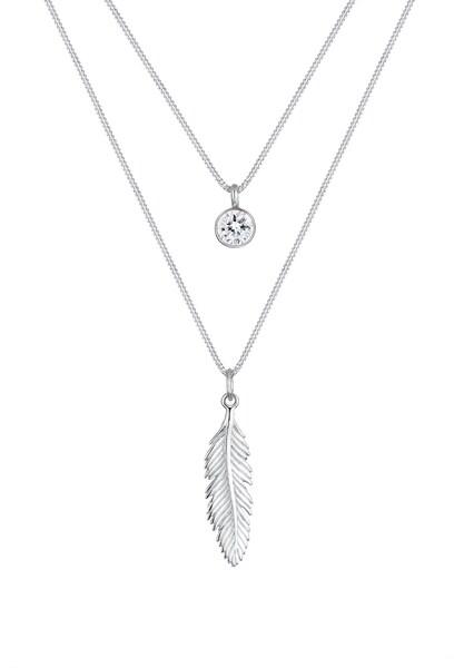 Ketten für Frauen - Halskette 'Boho' › ELLI › silber  - Onlineshop ABOUT YOU
