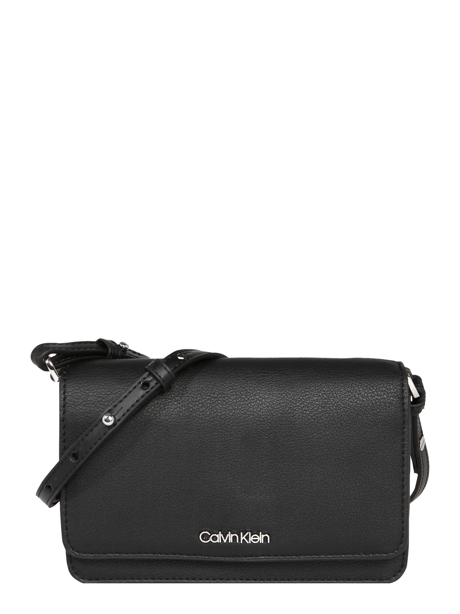 Calvin Klein Torba na ramię 'MUST PH CROSSBODY'  czarny