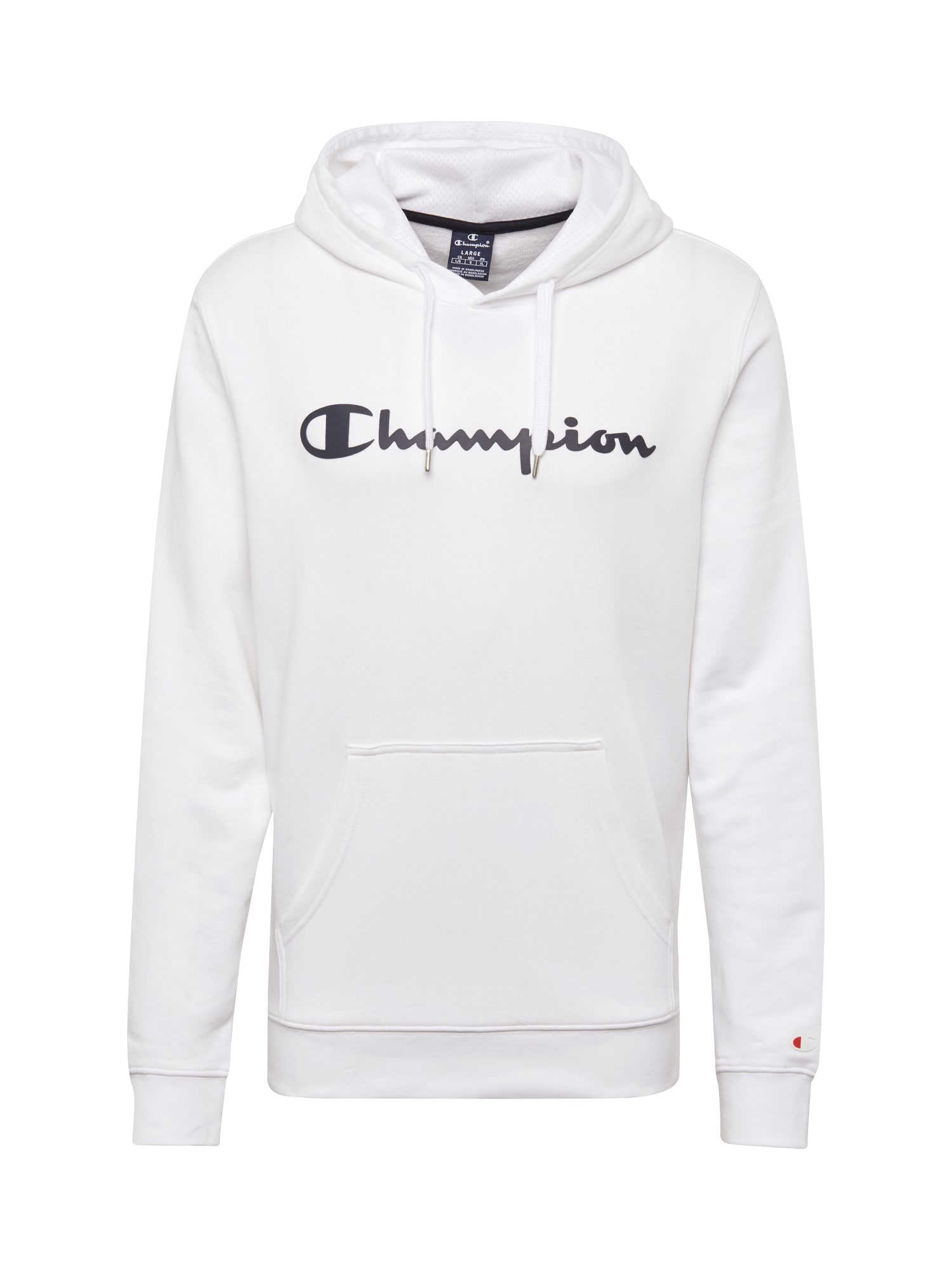 Champion Authentic Athletic Apparel Megztinis be užsegimo balta / juoda