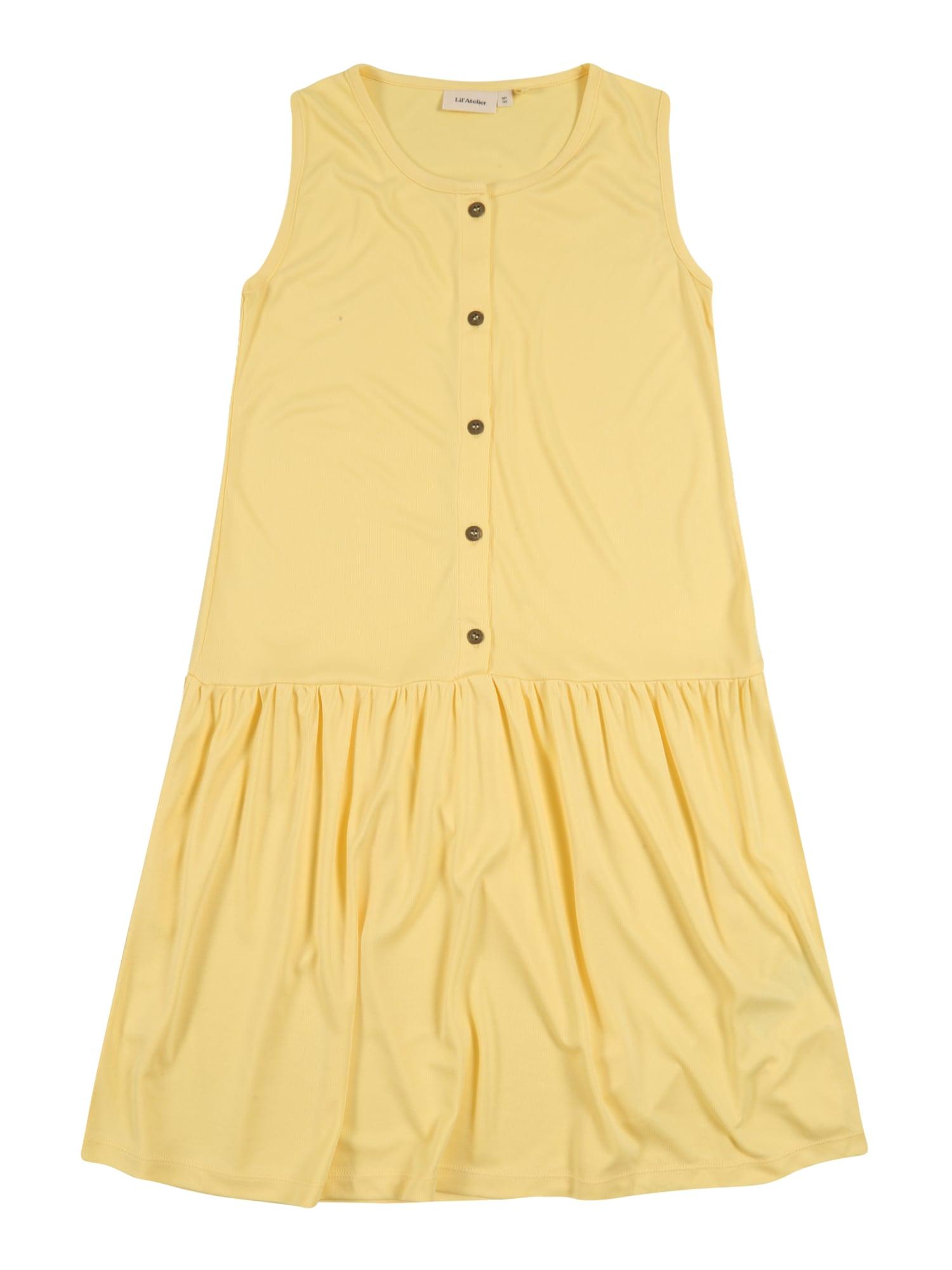 Lil ' Atelier Kids Suknelė 'GOME' geltona