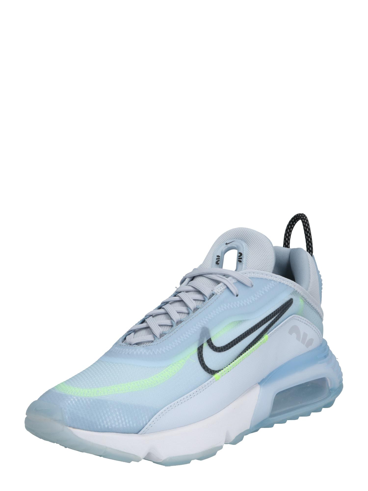 Nike Sportswear Sportbačiai be auliuko 'AIR MAX 2090' mėlyna / balta / oranžinė-raudona