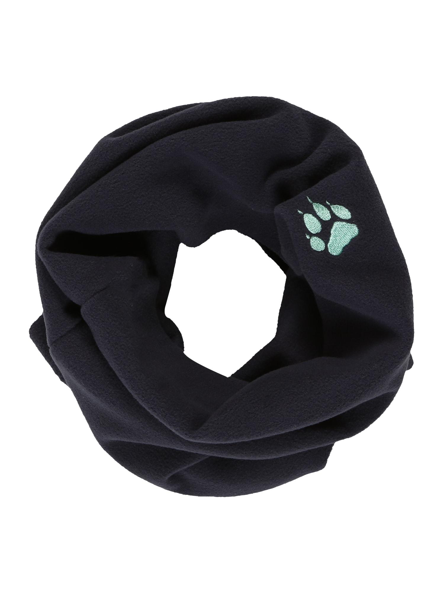 JACK WOLFSKIN Sportovní šátek  tmavě modrá / tyrkysová
