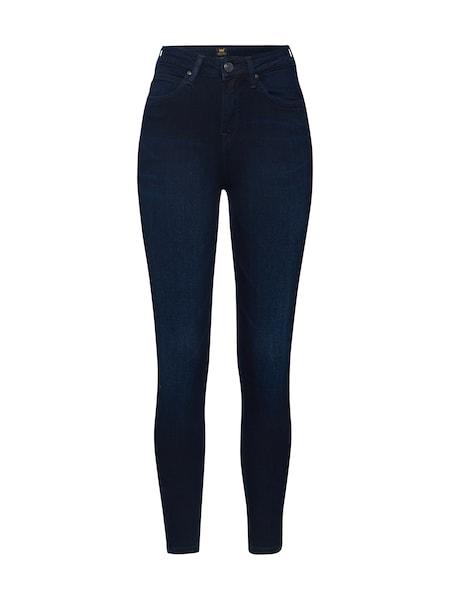 Hosen - Jeans 'Scarlett High Zip' › Lee › blau  - Onlineshop ABOUT YOU