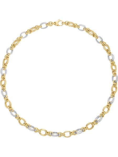 Ketten für Frauen - CHRIST Kette '85806386' gold silber  - Onlineshop ABOUT YOU