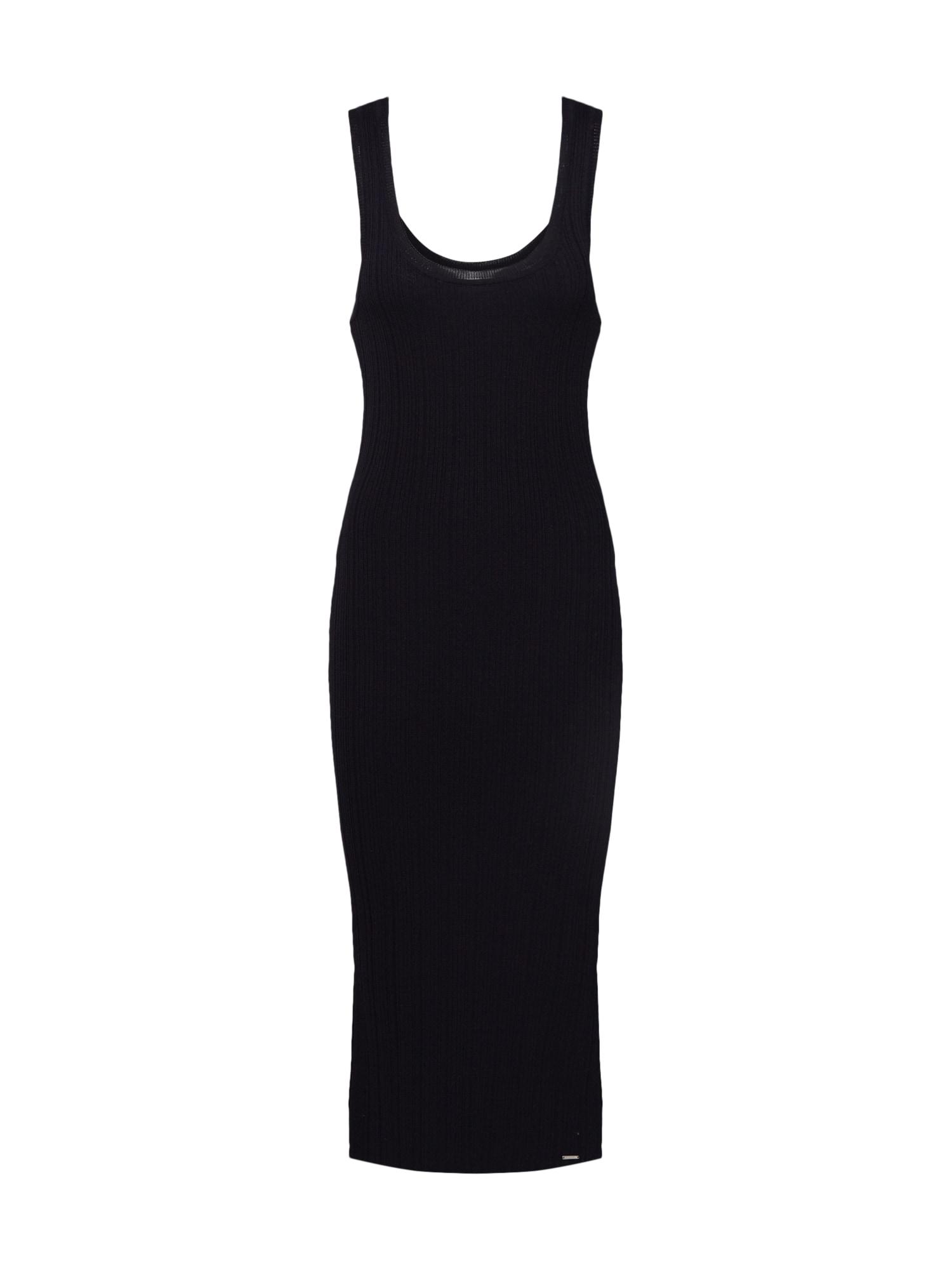 Superdry Šaty  černá