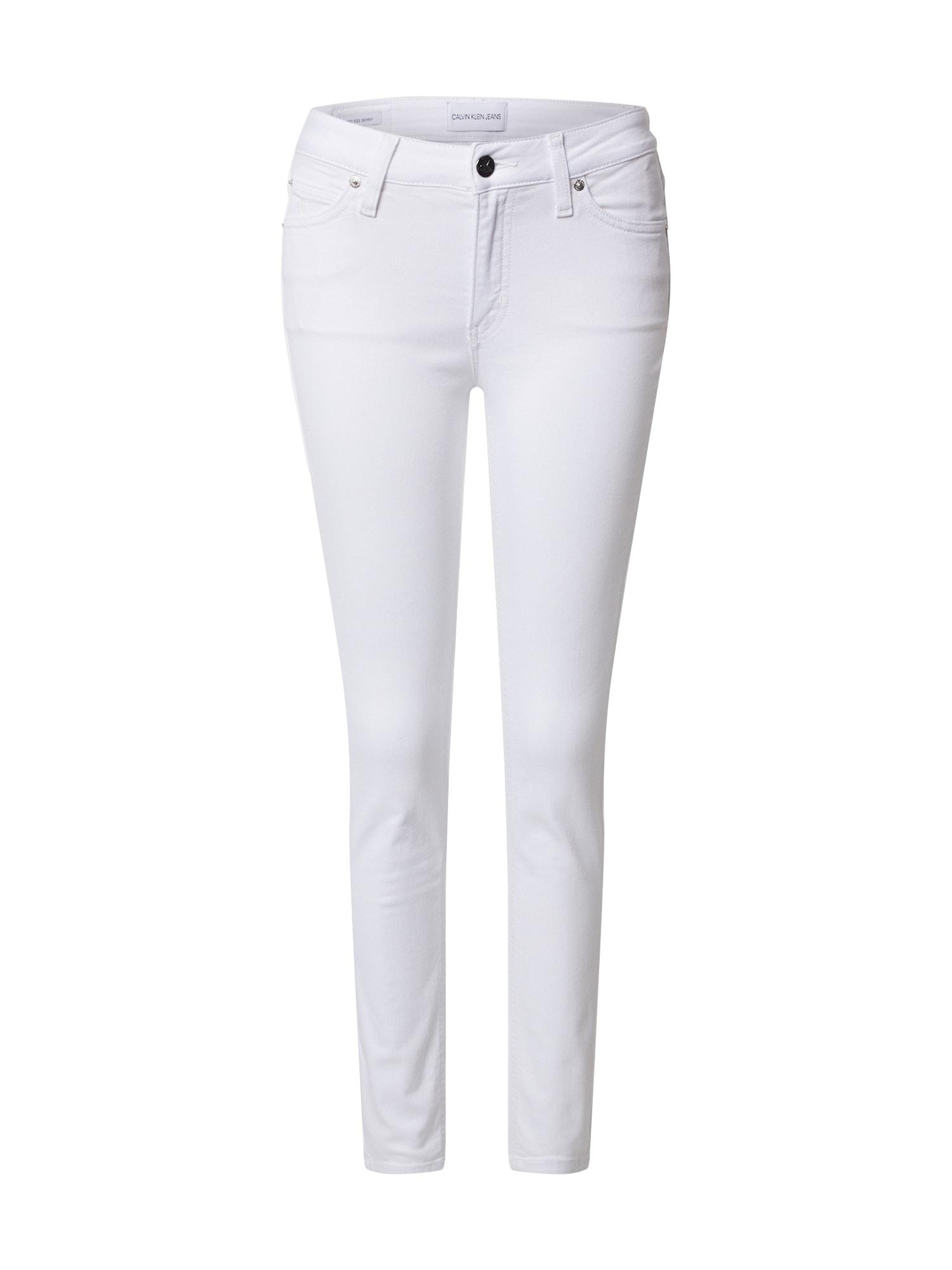 Calvin Klein Jeans Džinsai 'CKJ 011' balta