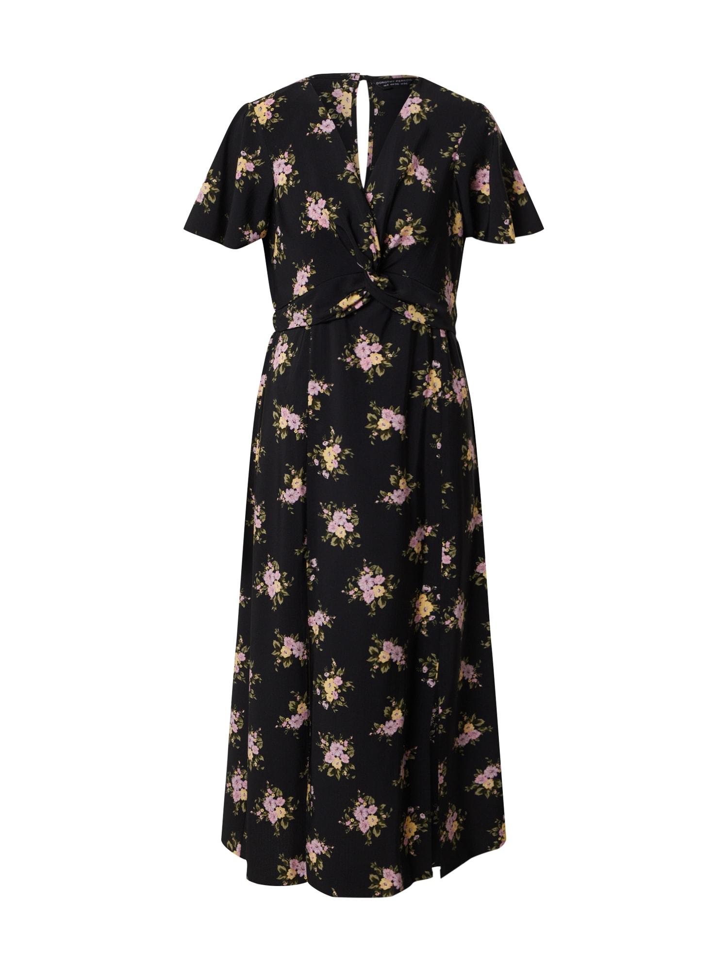 Dorothy Perkins Suknelė 'TEA' mišrios spalvos / juoda