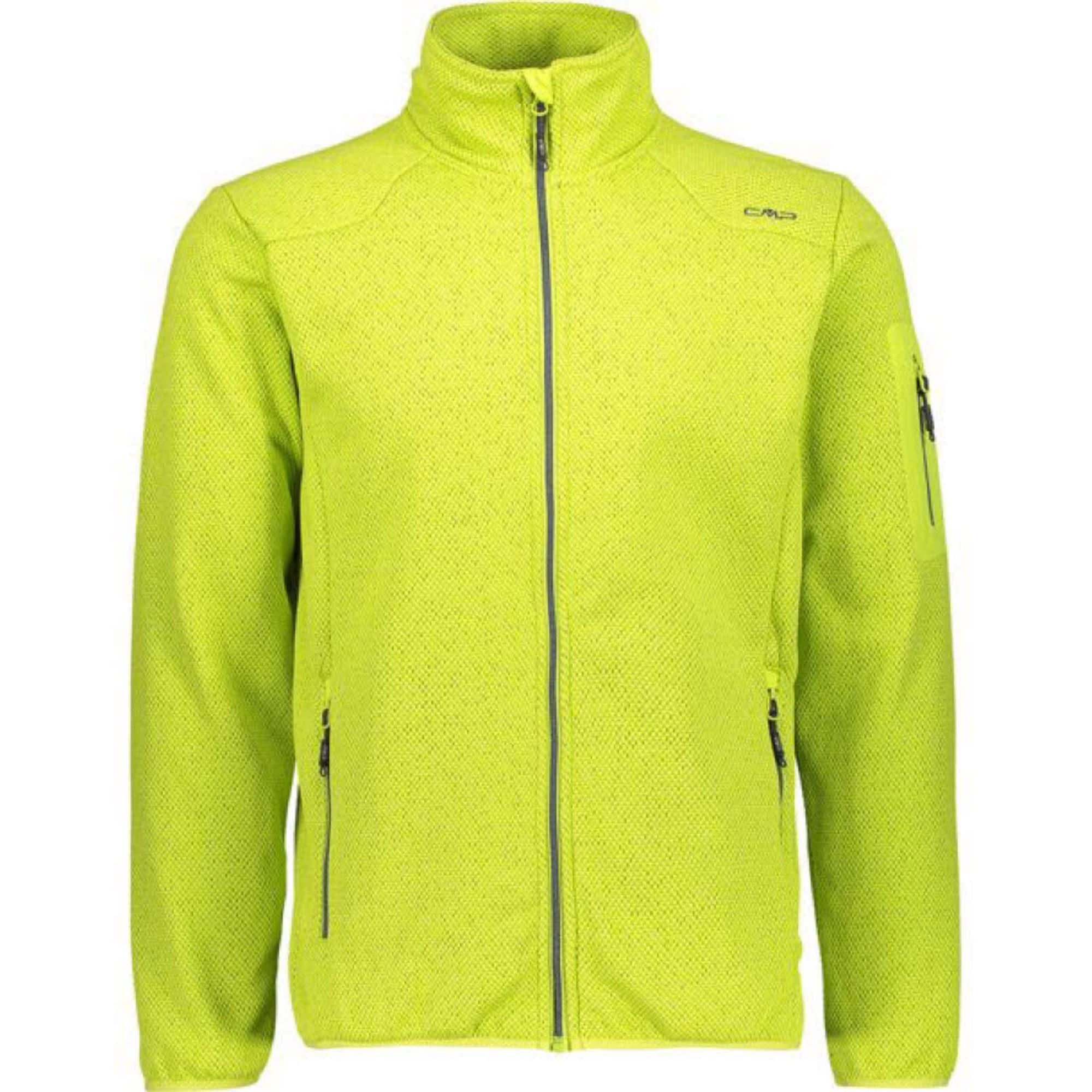 CMP Funkcinis flisinis džemperis neoninė geltona