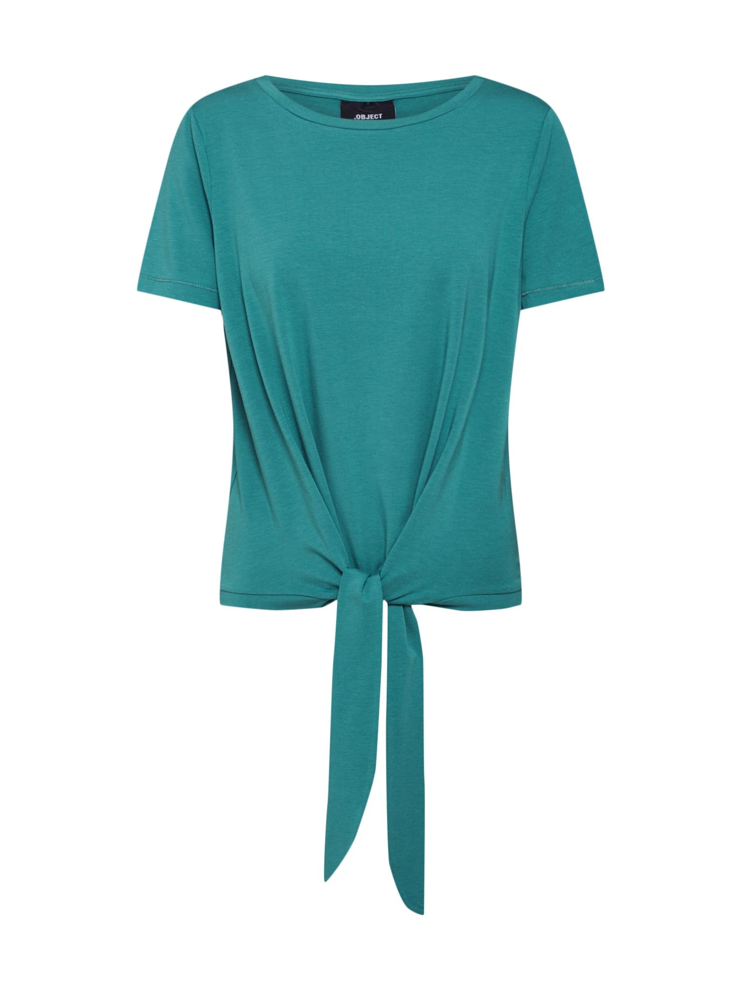 OBJECT Tričko 'Stephanie'  pastelová modrá