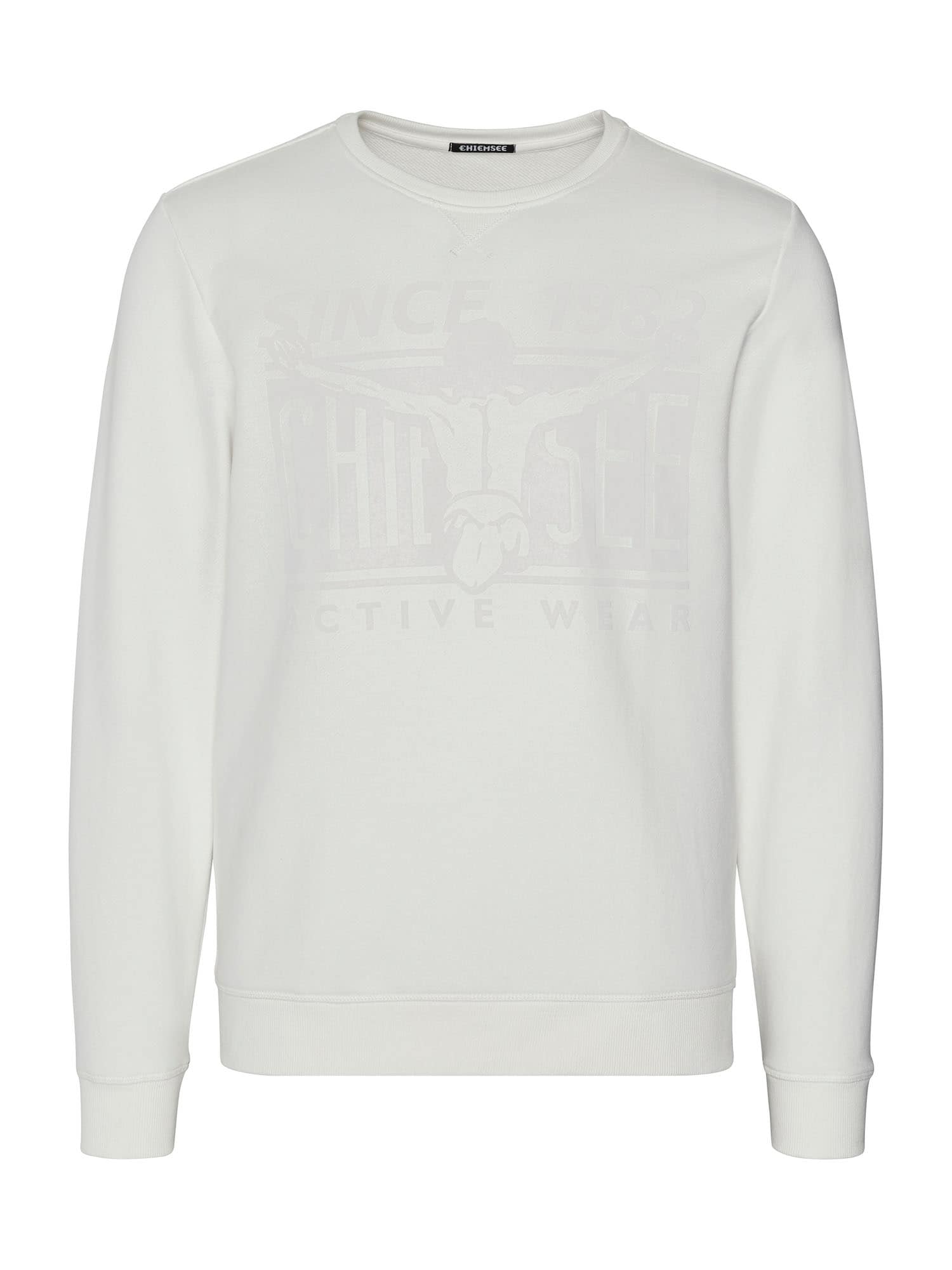 CHIEMSEE Sportinio tipo megztinis balta