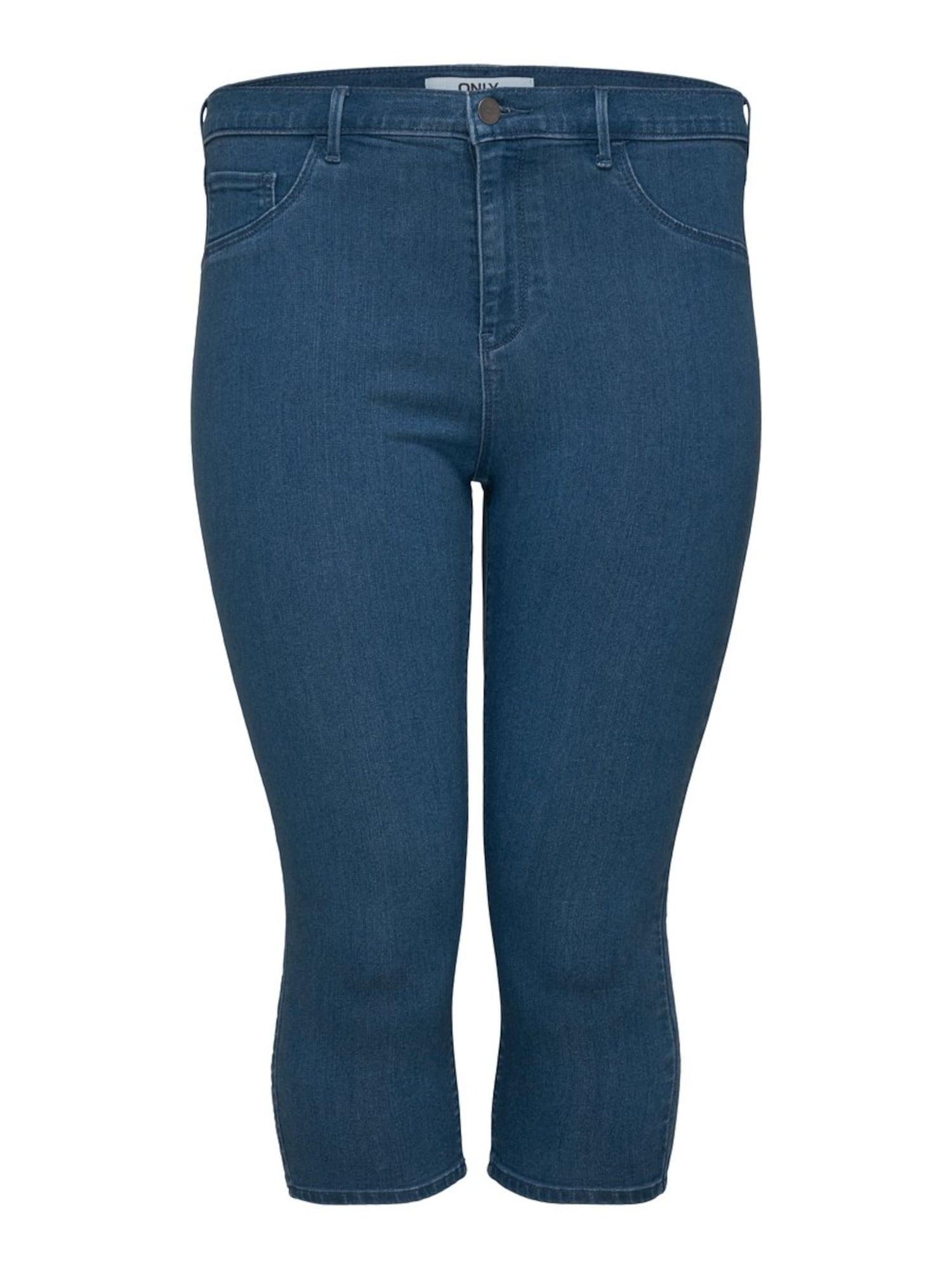 ONLY Carmakoma Kelnės tamsiai (džinso) mėlyna