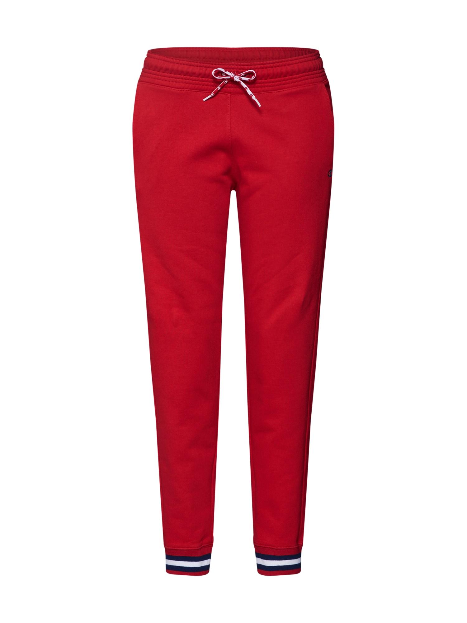 Kalhoty Rochester Manifesto červená bílá Champion Authentic Athletic Apparel