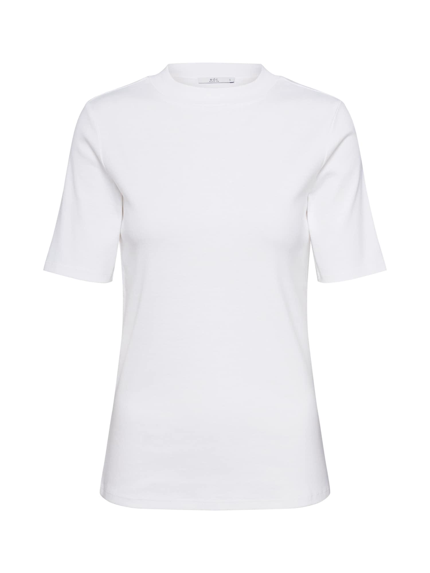 EDC BY ESPRIT Marškinėliai balta