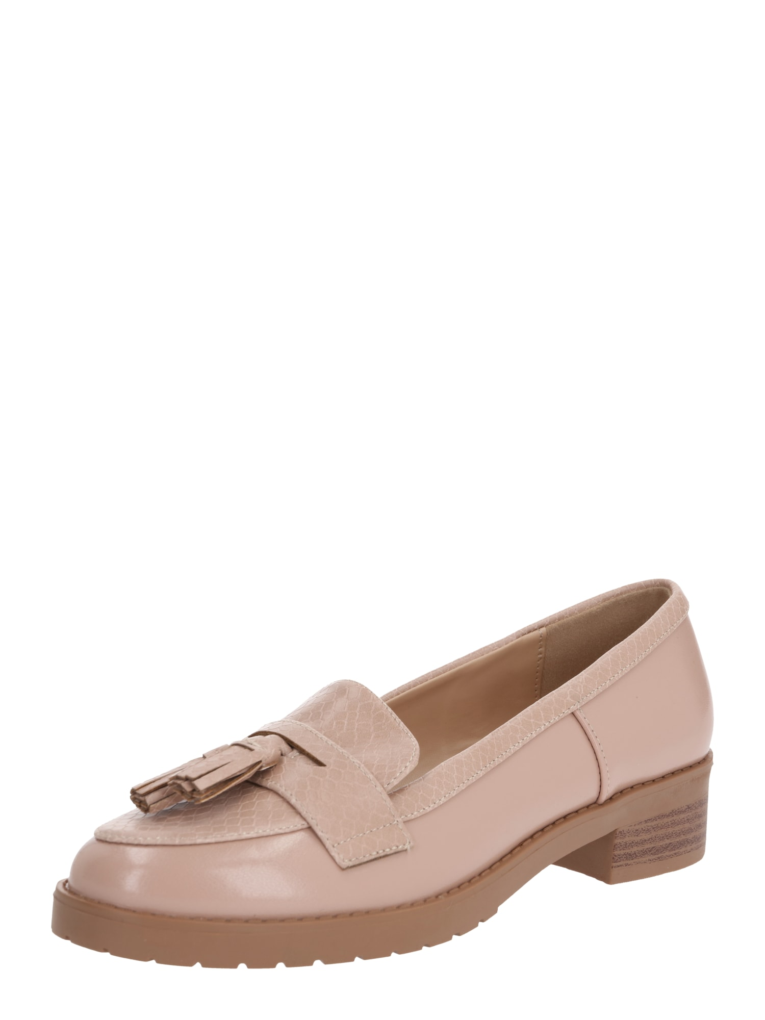 Dorothy Perkins Šliurės 'LITTY LOAFERS' rožinė