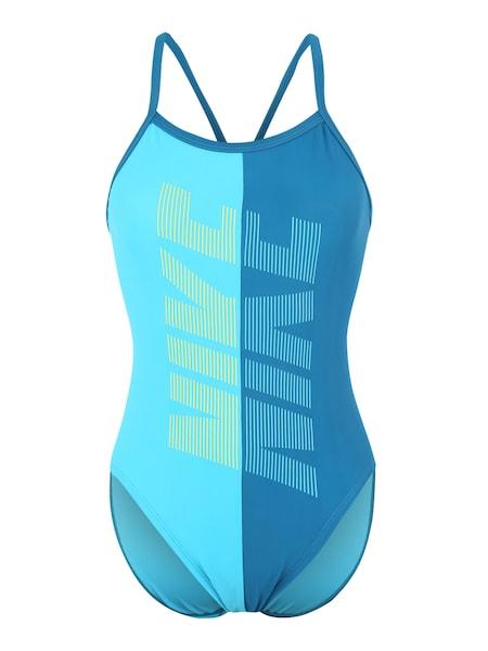 Bademode für Frauen - Badeanzug 'Nike Rift' › Nike Swim › blau  - Onlineshop ABOUT YOU