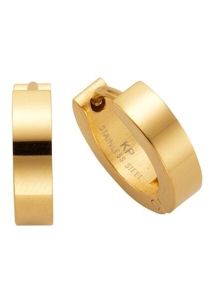Ohrringe für Frauen - FIRETTI Ohschmuck Paar Creolen ''basic'' gold  - Onlineshop ABOUT YOU