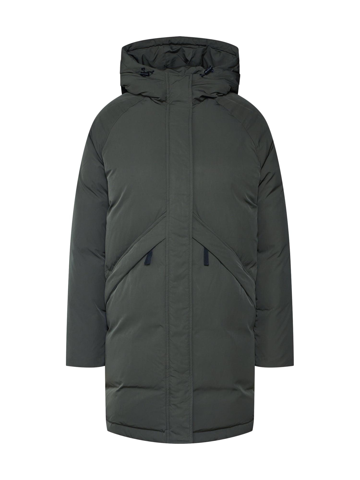 SELECTED FEMME Žieminis paltas 'STELLA' tamsiai žalia