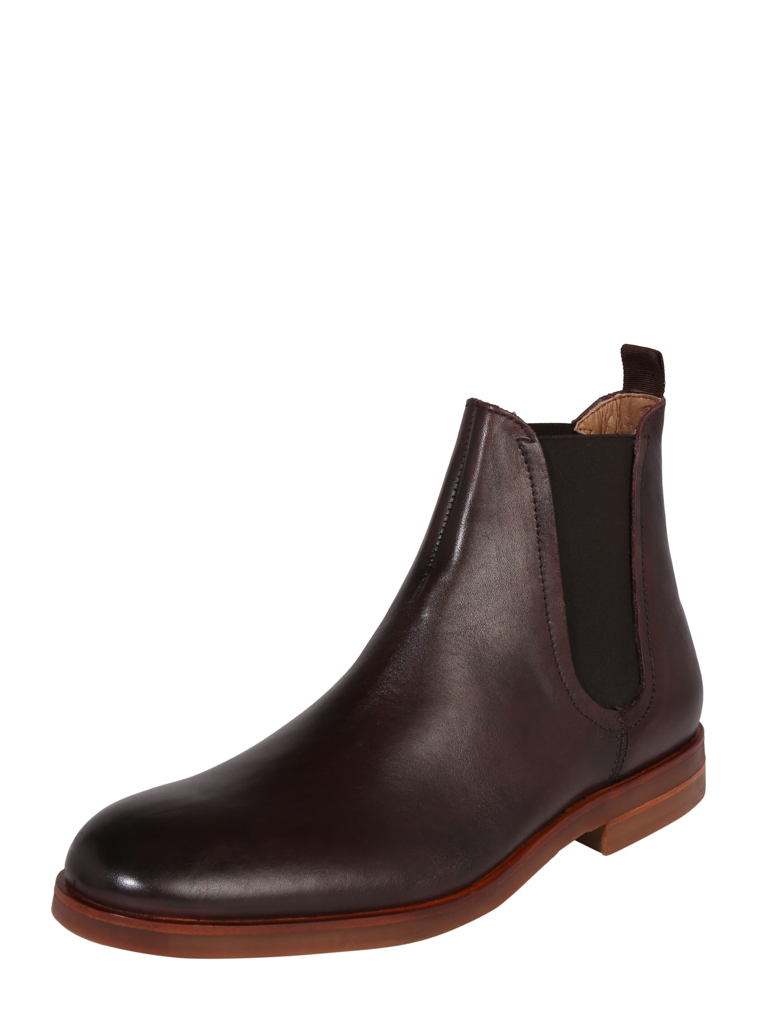 Chelsea boty Adlington tmavě hnědá Hudson London