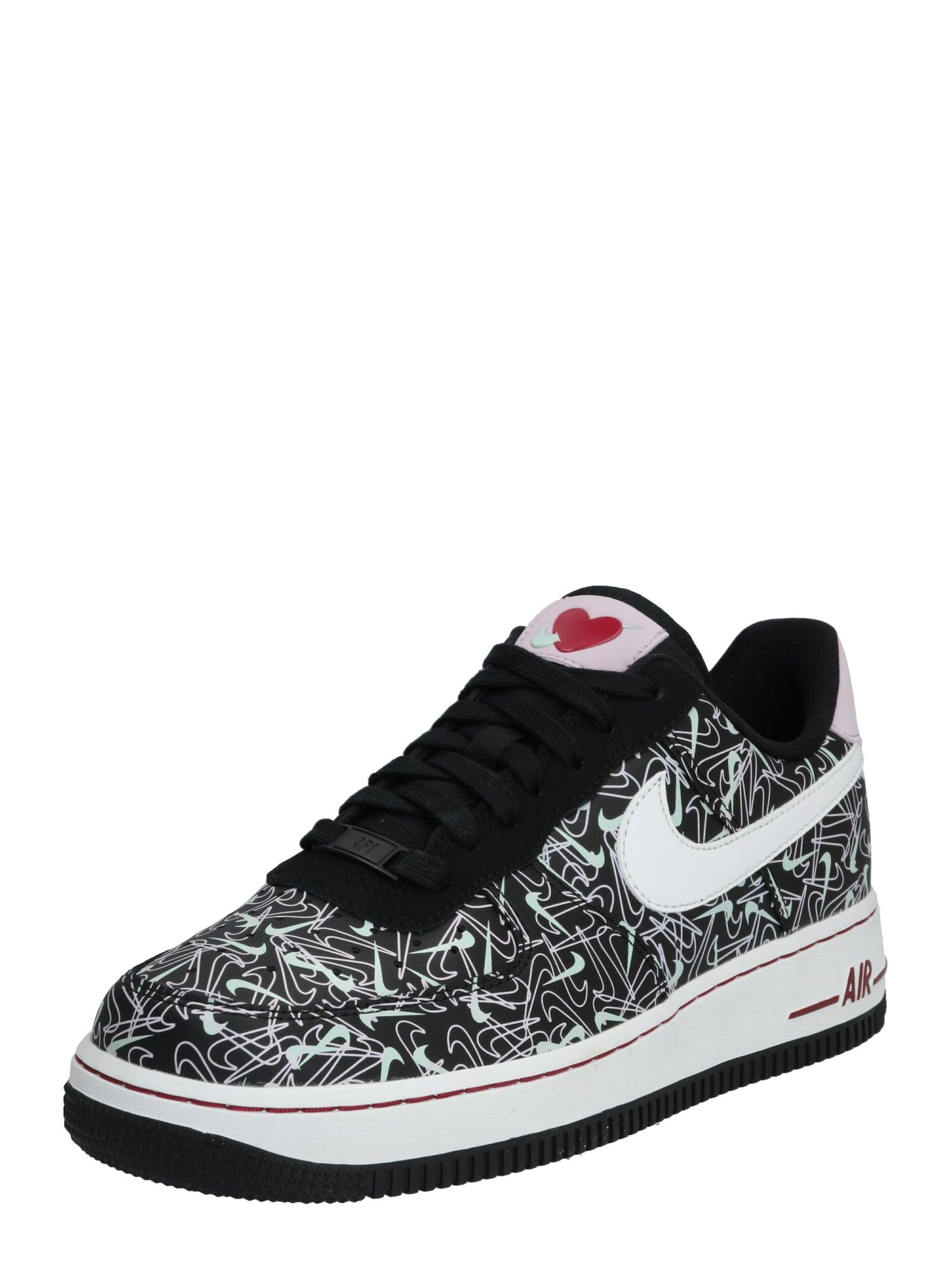 Nike Sportswear Nízke tenisky 'Air Force 1 '07 Premium SE'  biela / mätová / čierna
