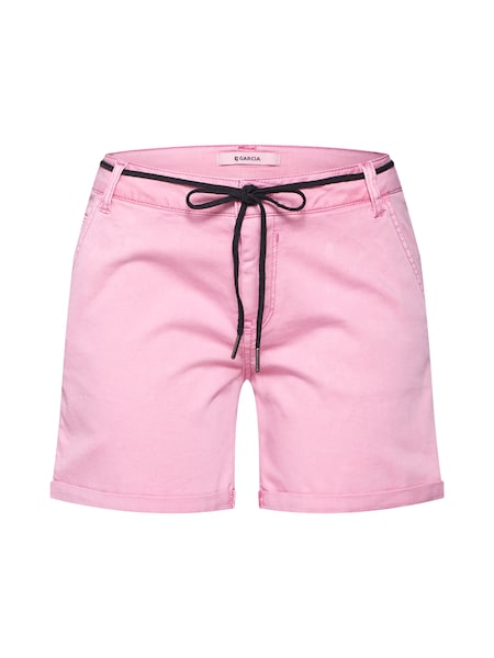 Hosen für Frauen - GARCIA Shorts pink  - Onlineshop ABOUT YOU