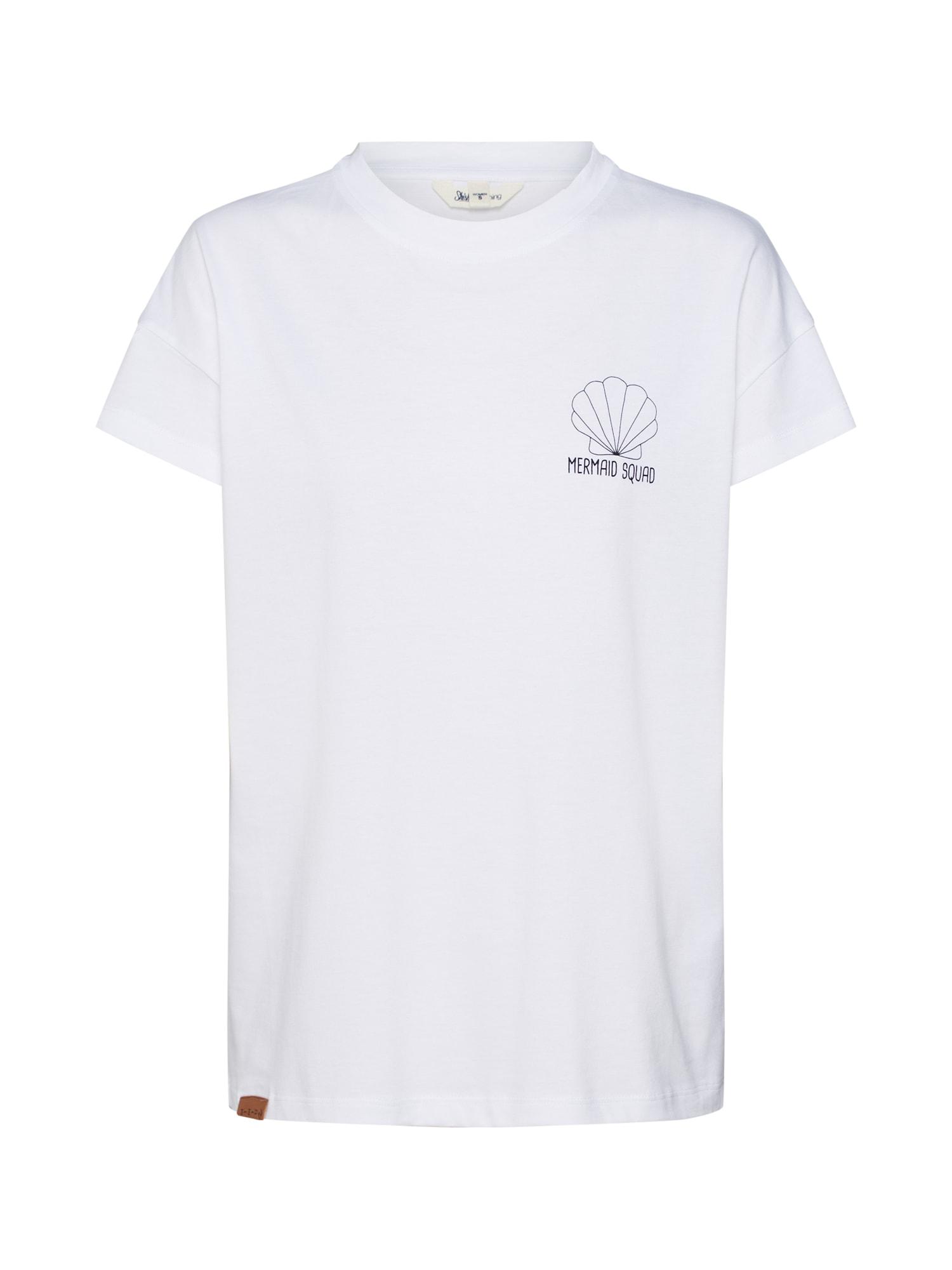 Tričko Shell bílá SHISHA