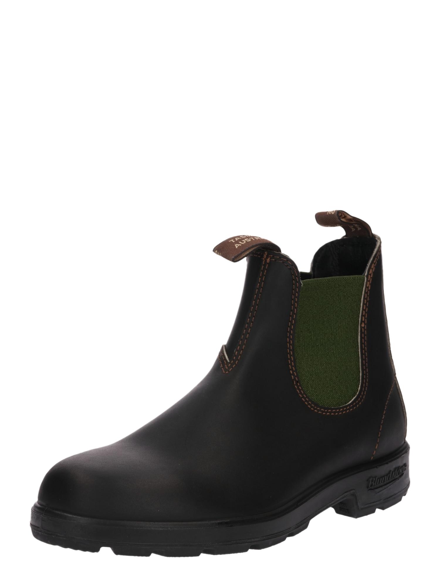 Blundstone Chelsea batai tamsiai ruda / žalia