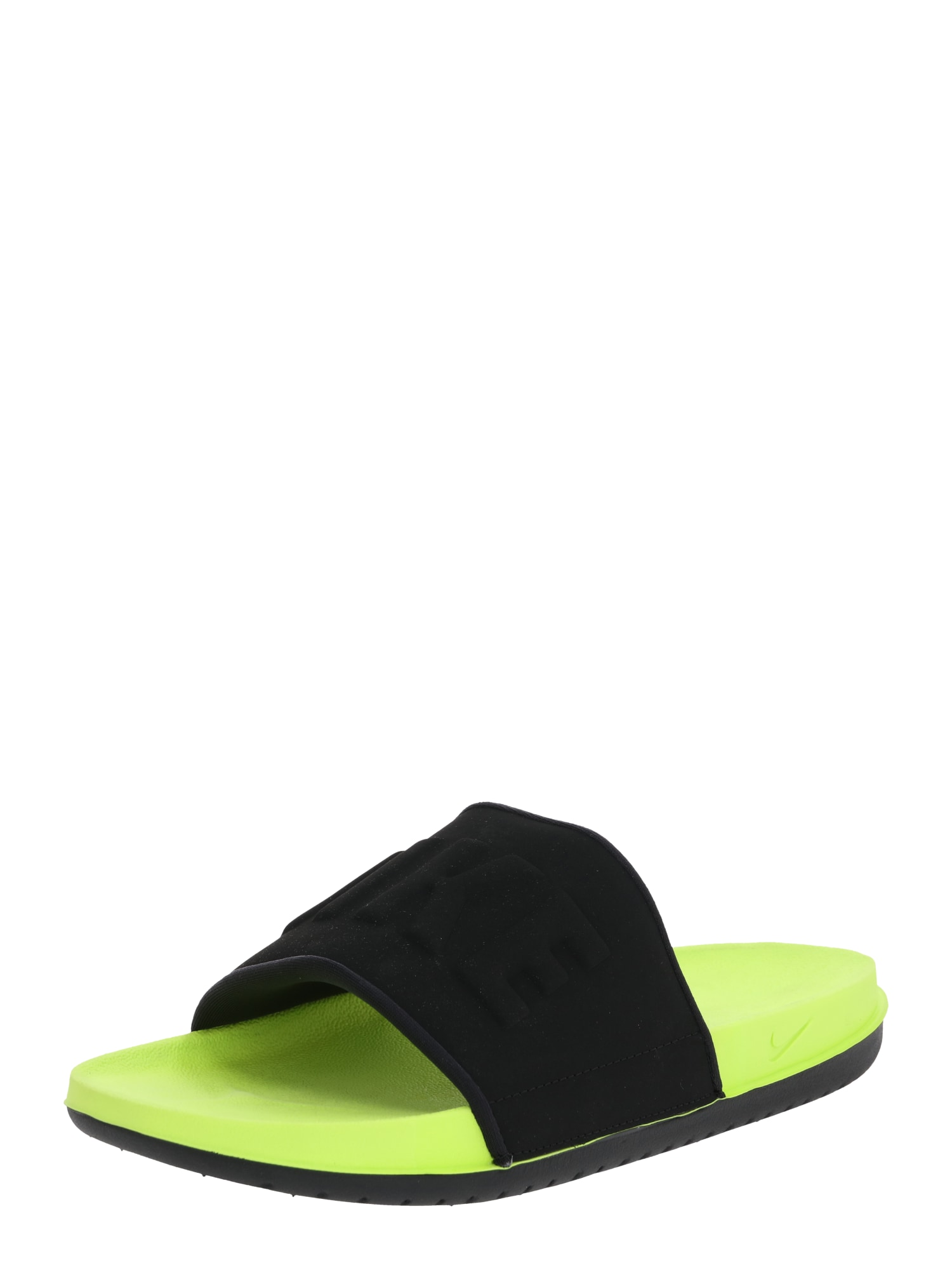 Nike Sportswear Šľapky 'Offcourt'  žlté / čierna