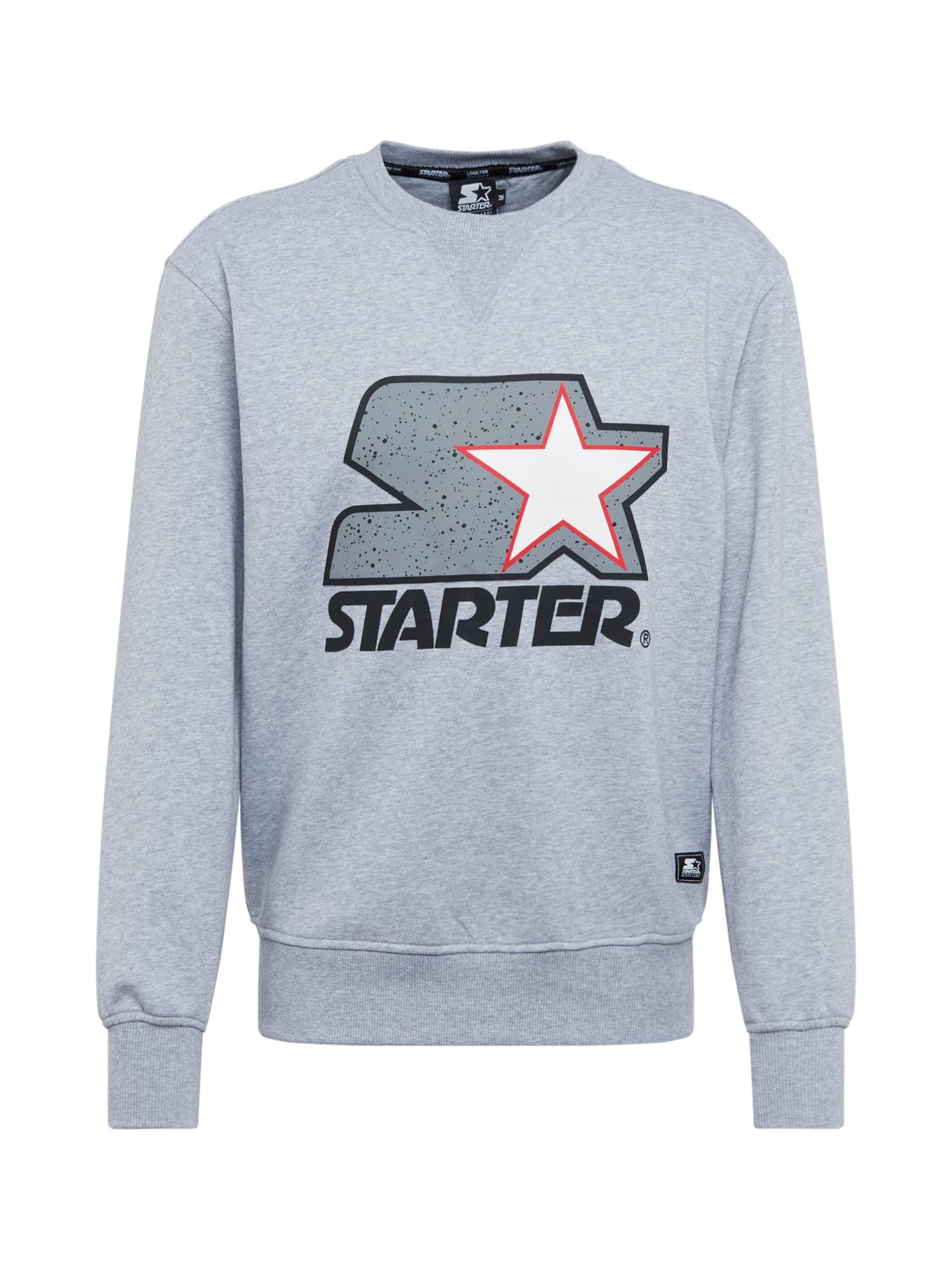 Starter Black Label Megztinis be užsegimo pilka