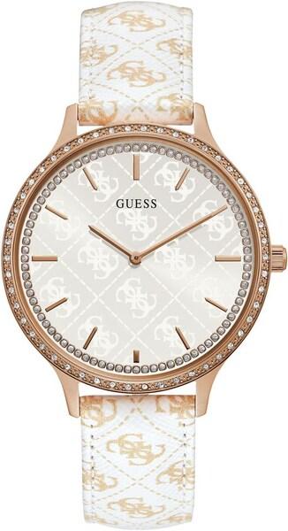 Uhren für Frauen - GUESS Uhr 'Nouveau W1229L3' rosegold weiß  - Onlineshop ABOUT YOU