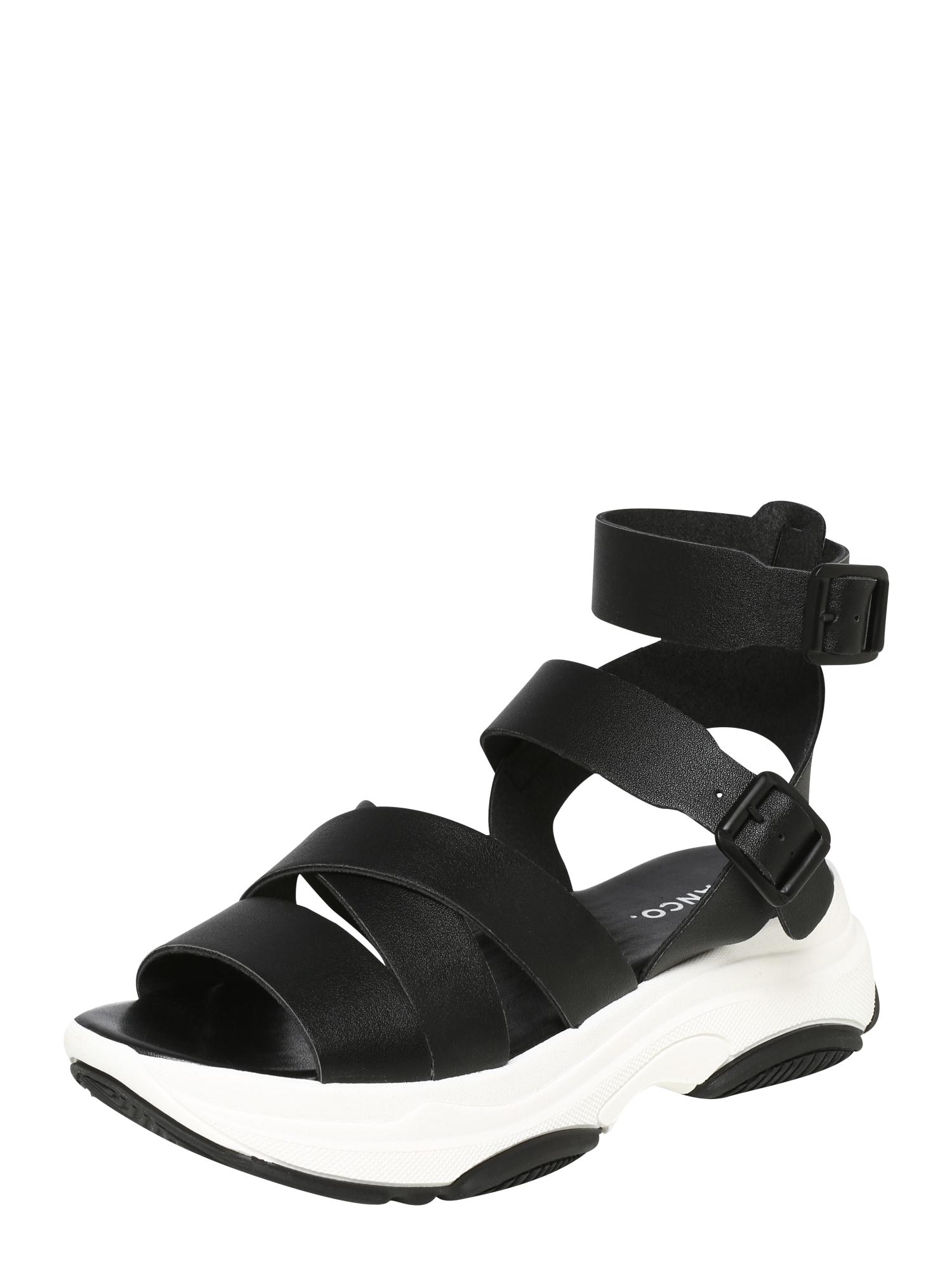 Sandály Biaalia černá bílá Bianco
