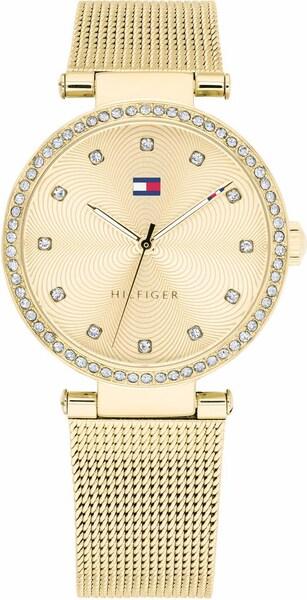 Uhren für Frauen - TOMMY HILFIGER Quarzuhr 'Sophisticated Sport, 1781864' gold weiß  - Onlineshop ABOUT YOU