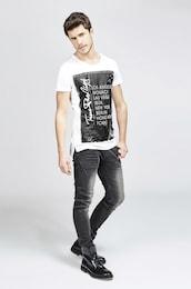 - trueprodigy Herren T-Shirt The Presence schwarz,weiß | 04057124028263