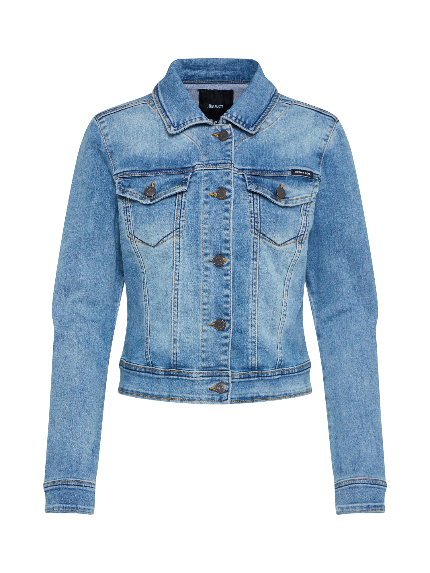 OBJECT Demisezoninė striukė tamsiai (džinso) mėlyna