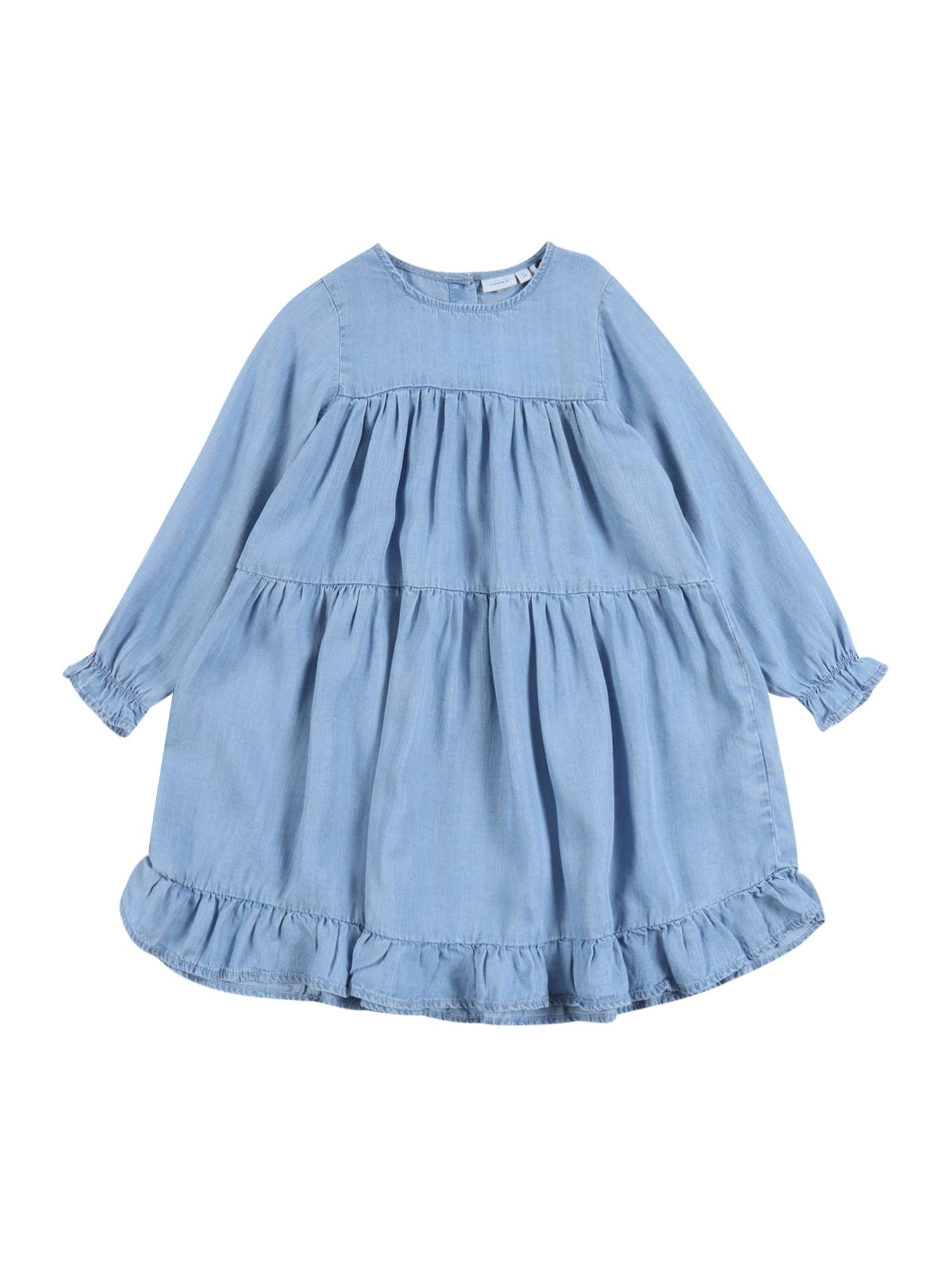 NAME IT Suknelė šviesiai mėlyna