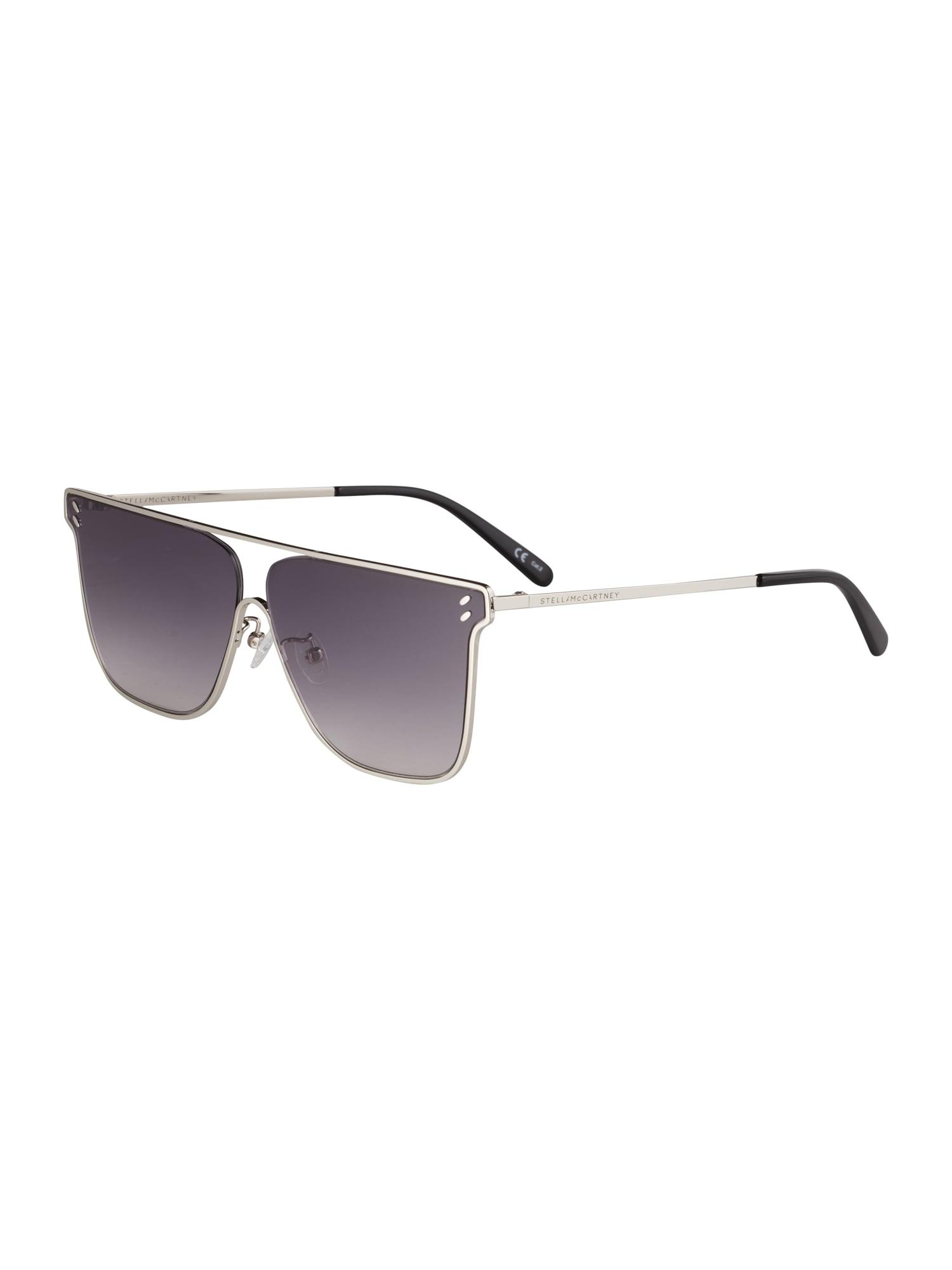 Stella McCartney Sluneční brýle 'SC0205S-001 64 Sunglass WOMAN METAL'  stříbrně šedá