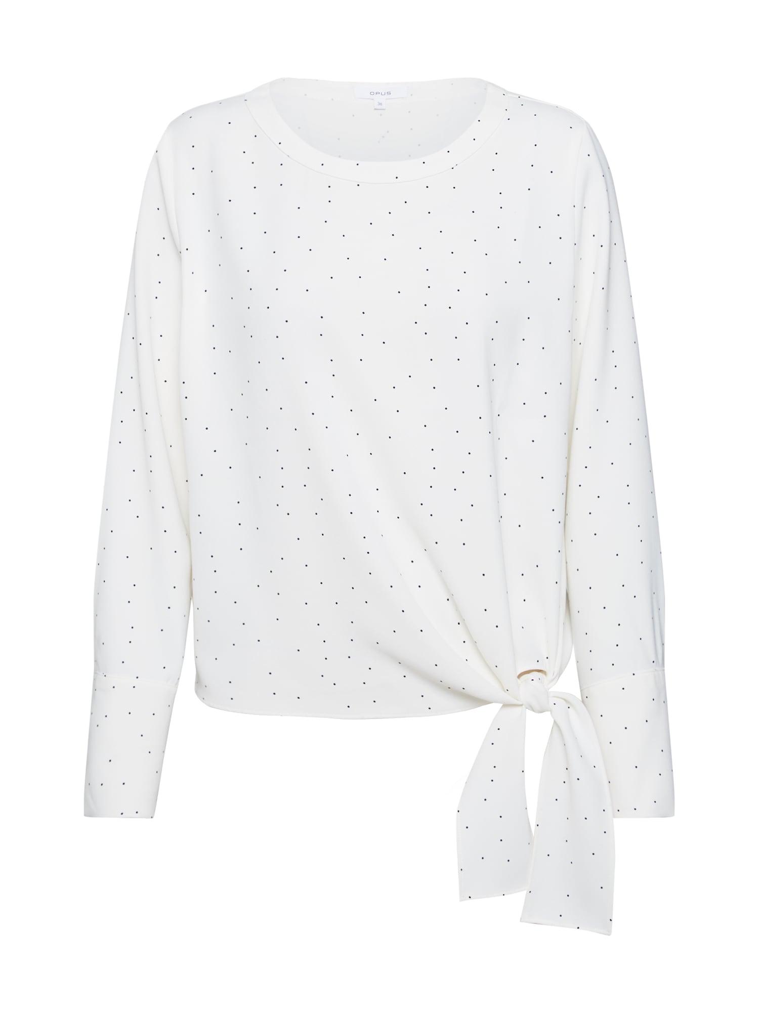 OPUS Marškinėliai balkšva / mišrios spalvos